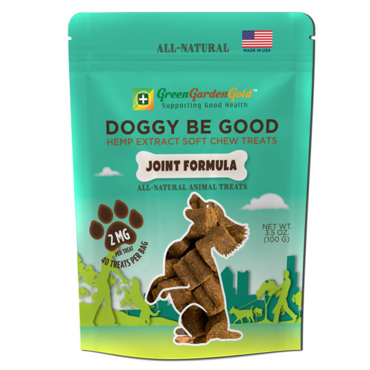 Doggy Be Good™ CBD Soft Chew Treats: Joint Formula