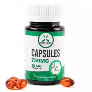Green Roads CBD Capsules | Hemp & Herbs | Temple Texas